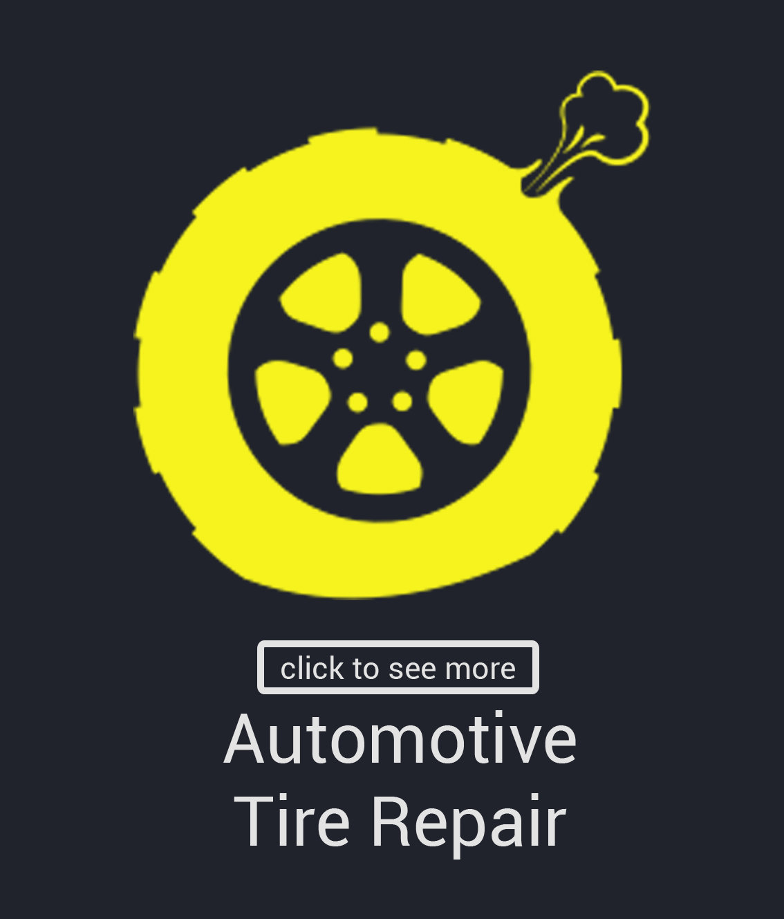 Automotive Tire Repair Hover Front