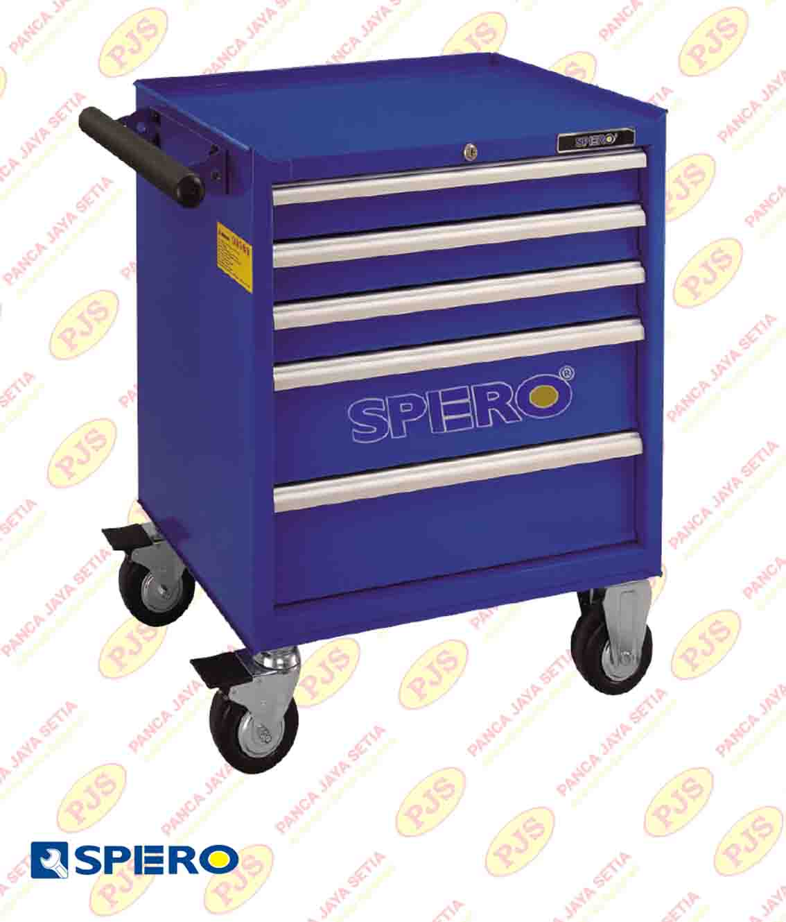 5-Drawer Tools Trolley